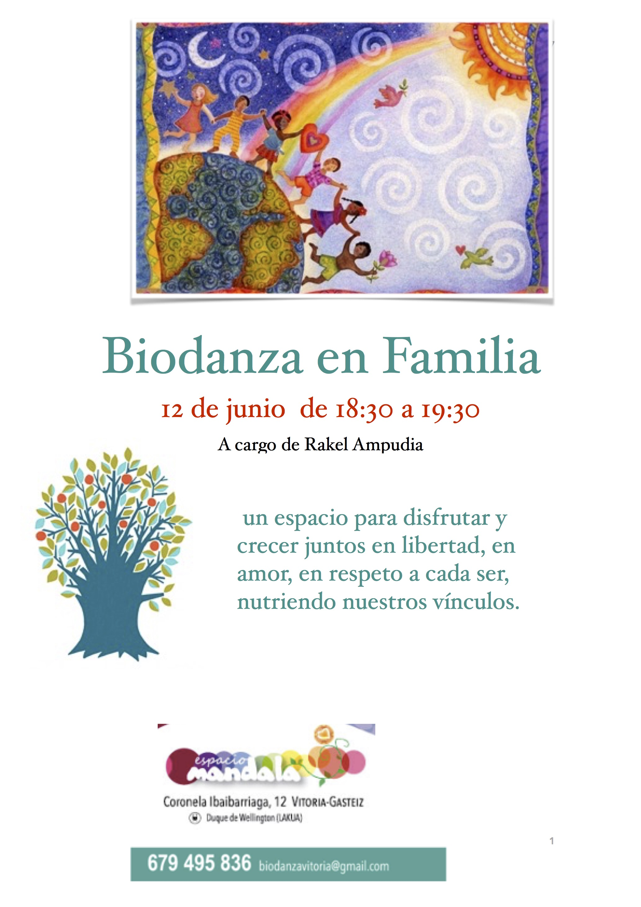 biodanza en familia 12 de junio