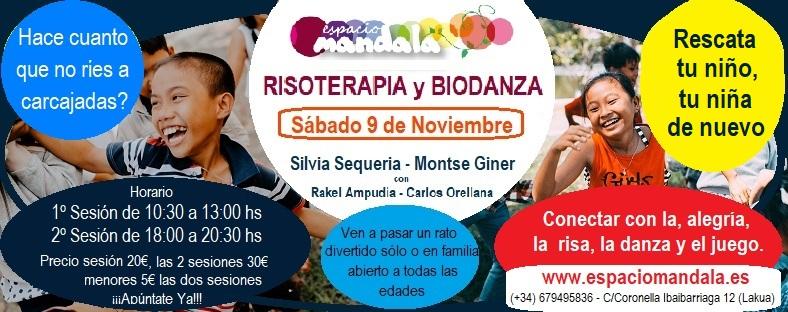 Riso Terapia y Biodanza, Sábado 9 de Noviembre en Vitoria-Gasteiz