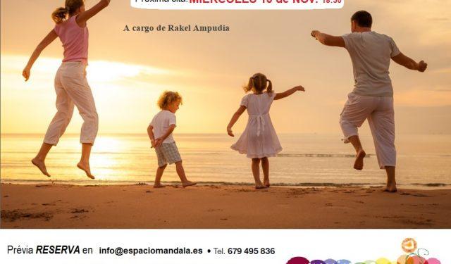 Biodanza en Familia Míercoles 13 de Noviembre, 18:30 hs