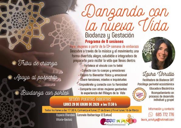 Biodanza y Gestación lunes 20 de Enero