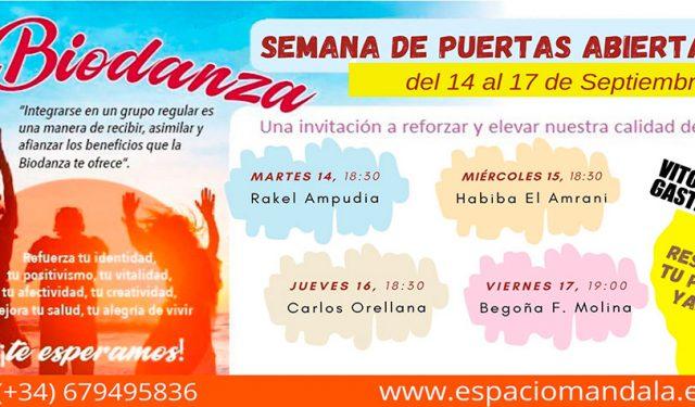 Semana de Puertas abiertas en el Espacio Mandala de Vitoria-Gasteiz