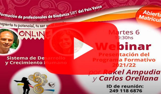 Inicio nuevo Ciclo de Formación de Biodanza